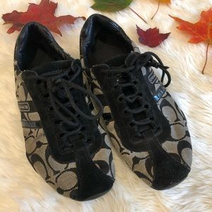 Women's coach sneakers size 7.5